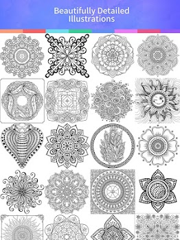 Mandala Coloring Book by Coloring Games Free Entertainment