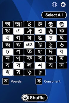 Bengali Alphabet Flash Cards