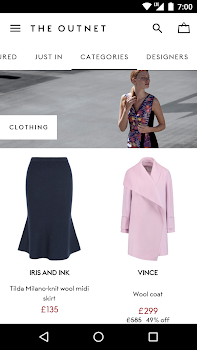 THE OUTNET; THE OUTNET; THE OUTNET ...