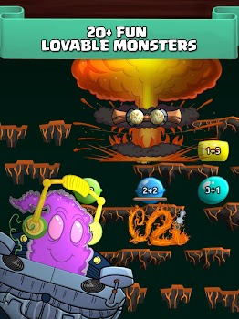 Monster Math: Fun Math Game for Kids - Grade K-5