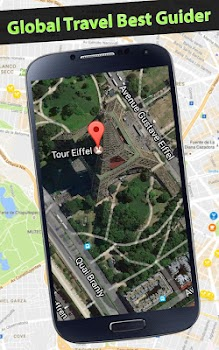 earth map live gps navigation route tracker