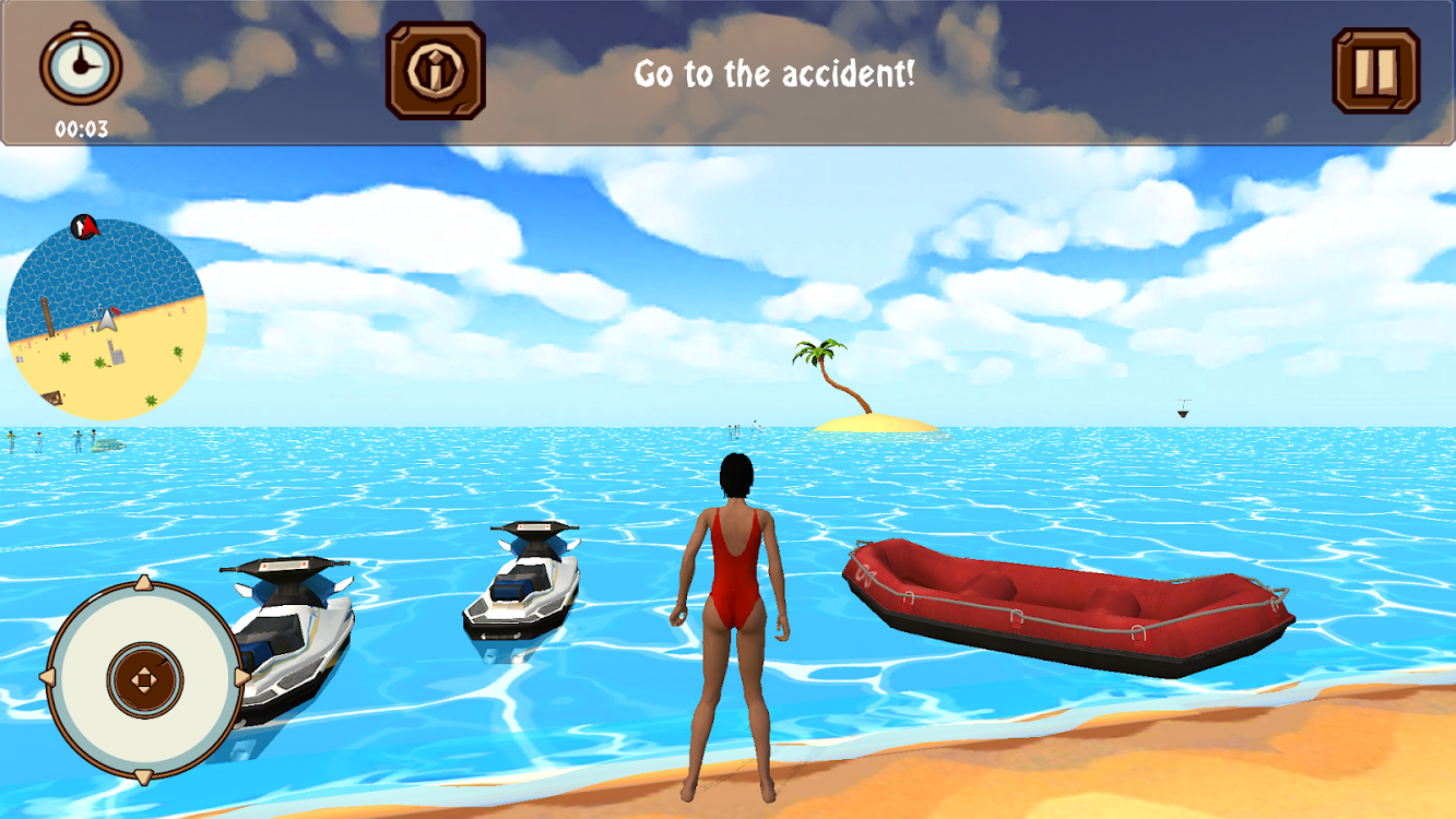 b0253429da3 Beach Lifeguard Rescue - by Sharkweed Premier Apps - Simulation ...