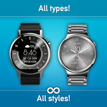 Watch Face - Minimal & Elegant for Android Wear OS