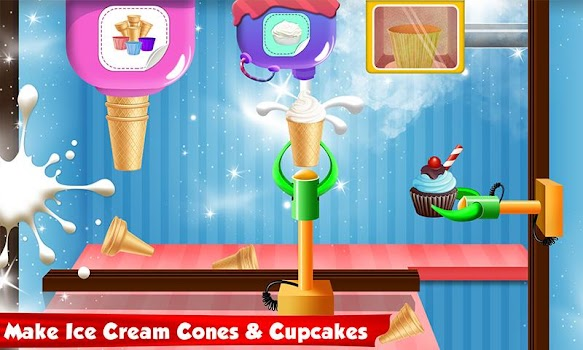 Ice cream cone cupcake factory candy maker games by kids fun ice cream cone cupcake factory candy maker games ccuart Image collections