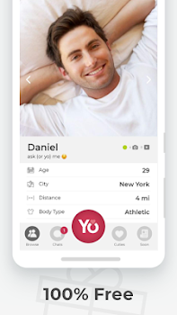 YoCutie - 100% Free. The #real Dating App.