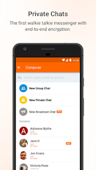 Voxer Walkie Talkie Messenger