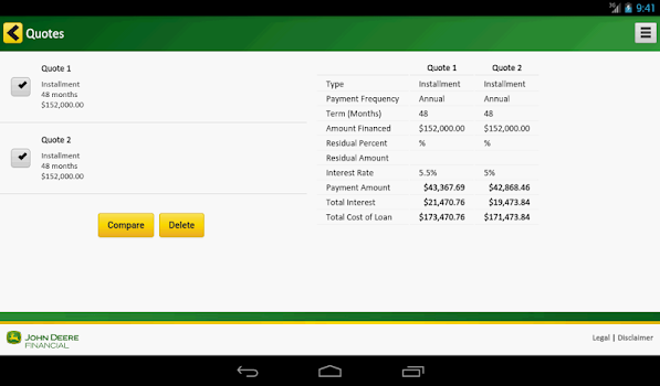 payment calculator by john deere finance category 54 reviews