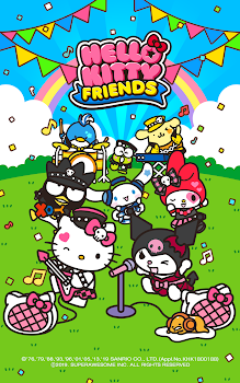41cb35b833cd5 Hello Kitty Friends - Hello Kitty Sanrio Puzzle - by Super Awesome ...