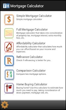 mortgage calculators by two hands laboratories finance category
