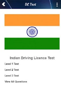 driving licence test signs in india