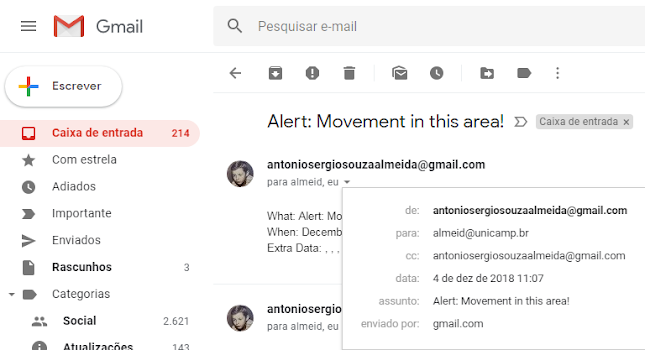 ESP8266 e-mail IFTTT monitor and control