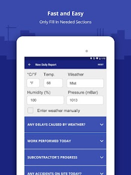 construction daily log app by snappii productivity category