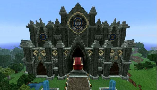 Buildings Example for MINECRAFT