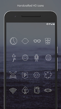 Lines - Icon Pack (Free Version)