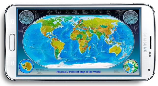 World map 3d by profettionalapp tools category 528 reviews world map 3d gumiabroncs Image collections