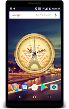 Paris Clock Live Wallpaper