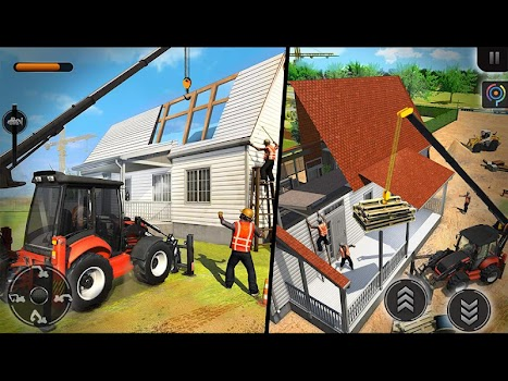 Mobile Home Builder Construction Games 2018