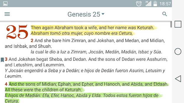 English Spanish Bible