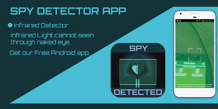 Tiny Spy Camera Finder - Hidden Camera Detector
