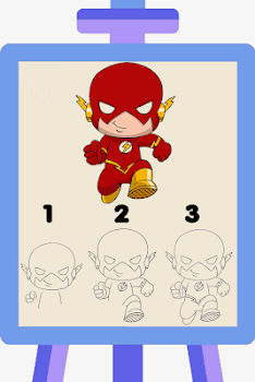 Draw Superhero Step by Step