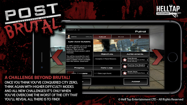 Post Brutal: Zombie Action RPG