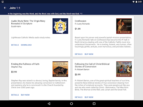 Best 10 catholic bible apps appgrooves catholic study bible app fandeluxe Image collections