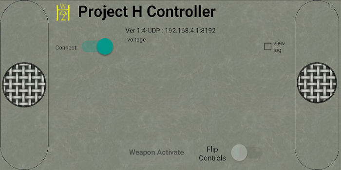 Project H Fighting Robot Control