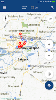 Rostov-on-Don Map offline - by iniCall.com - Travel & Local Category ...