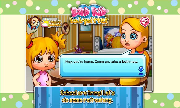 Kids game bad kid babysitting by chilican casual games kids game bad kid babysitting voltagebd Gallery