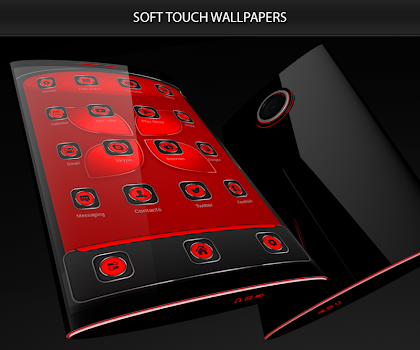 Soft Touch Red Theme