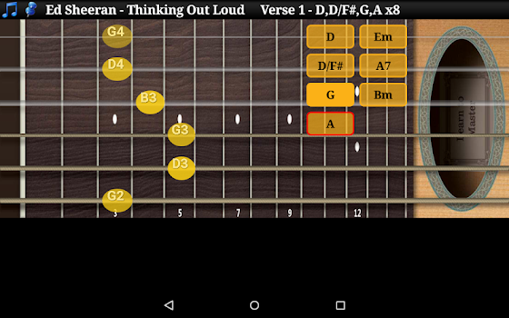 Guitar Scales & Chords Free