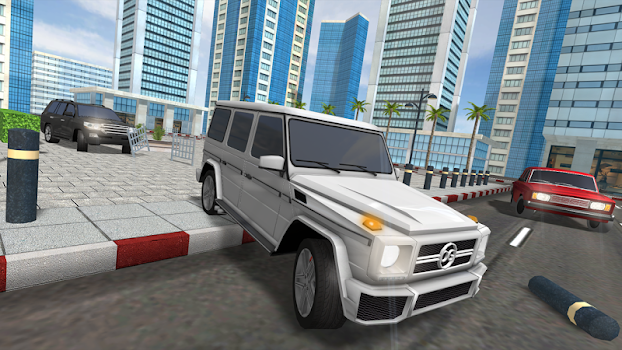 Traffic: Luxury Cars SUV - by Oppana Games - Racing Games Category