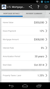 U.S. Mortgage Calculator