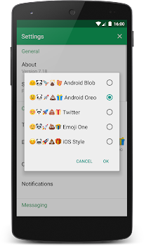 chomp Emoji - Android Oreo Style - by Delicious