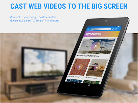 Web Video Cast™ | Browser to TV/Chromecast/Roku/+
