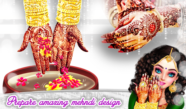 Putting Mehndi On Hands Games : Royal bridal mehndi designs pedicure manicure spa by gameicreate