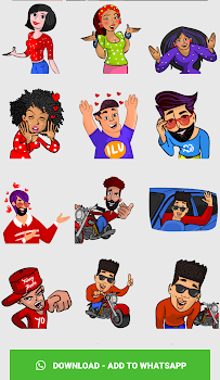 Stickers For WhatsApp - Third Party WAStickerApps