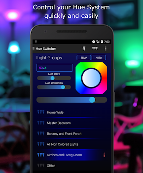 Hue Switcher - for Philips Hue Systems