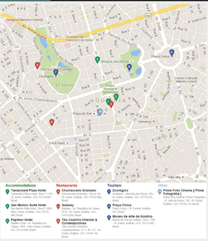 Goiania Map by Mappopolis Travel Local Category 1 Reviews