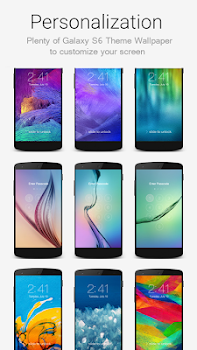 Lock Screen Galaxy Theme