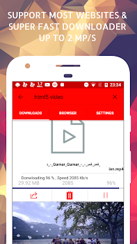 Turbo Video Downloader & Browser - by FarisDev - Tools Category