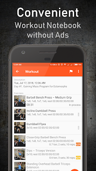 GymUp Workout Notebook PRO
