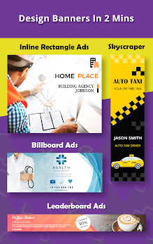 Banner Maker, Ad Maker, Web Banners, Graphic Art