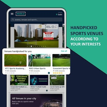 Hudle - Book Sports Venues and Sports Events