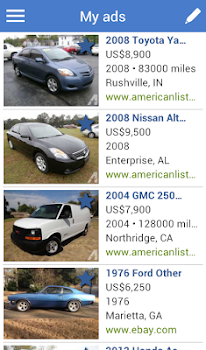 Search for used cars to buy