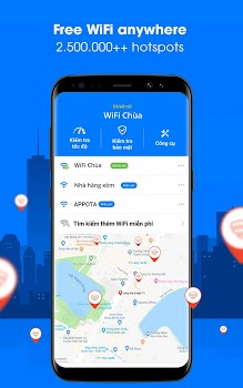 WiFi Chùa - Connect free hotspots