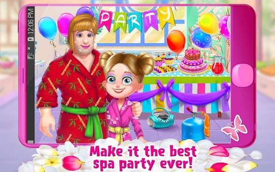 spa day with daddy makeover adventure for girls by tabtale 16