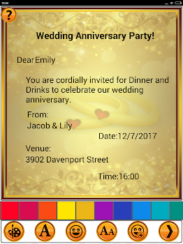 Anniversary invitation cards by sendgroupsms bulk sms software anniversary invitation cards stopboris Choice Image