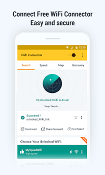 WiFi Key Connector: Free Password and WiFi Map