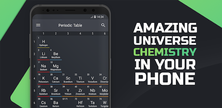Best 10 apps for the periodic table of elements appgrooves periodic table 2018 urtaz Choice Image